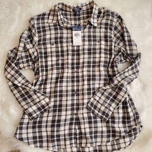 Chaps,Ralph Lauren plaid shirt,cream